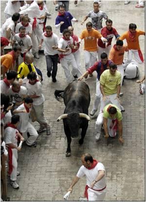 Australian Injured as Spain Begins Annual Bullrunning Festival