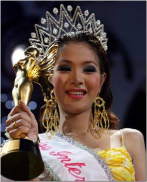 Thai's Transsexual Crowned Miss International Queen 2007