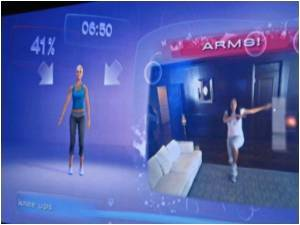 Virtual Fitness Coach  from Ubisoft Boosts Videogame Fitness