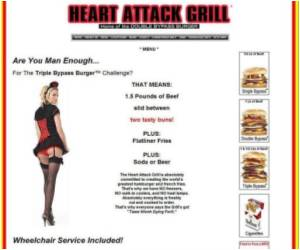 Legal Duel Over Heart Attack Burger Joints in the US
