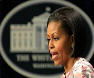 Michelle Obama Launches 'Drink Up' Drive in Watertown