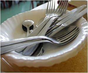 Using Big Forks Help To Eat Less: Study