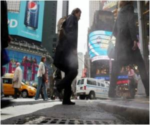 US Pedestrian Death Spike Caused by Portable Devices