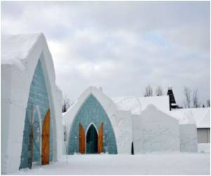 Ice Hotel in Canada Warms Hearts
