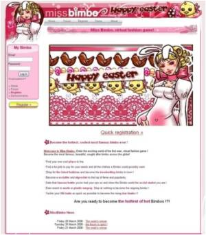 'Miss Bimbo' Website 'Unhealthy' for Girls, With or Without Diet Pills