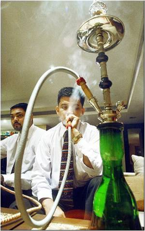 Hookah Bars in Hyderabad Raided