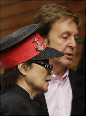 McCartney and Yoko Ono Urges for 'Meat-free Mondays'