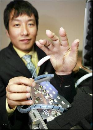 Japanese Firm Unveils Artificial Hand With 'air Muscles'