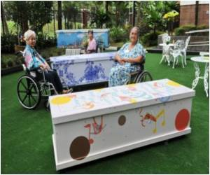 Happy Coffins Celebrate Life in Singapore