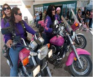 Mexican Women's Biker Club Revs Up to Aid Drug City