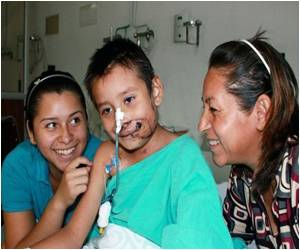 Child's Face Restored After Accident