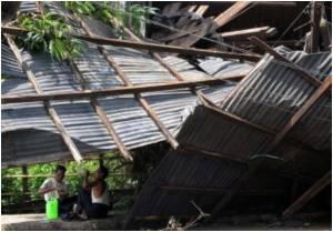 Cyclone Makes Destitute of People Along Tamil Nadu Coast