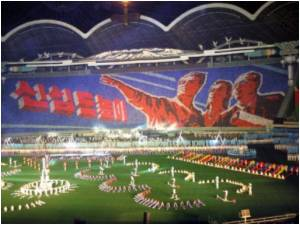 World's Largest Gymnastic Show Launched in North Korea