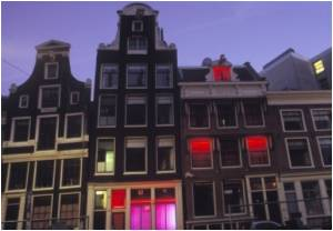 Amsterdam Plans to Halve Brothel Windows, Coffee Shops To Curb Crime