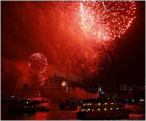 Global New Year Party Kicked Off by Spectacular Sydney Fireworks