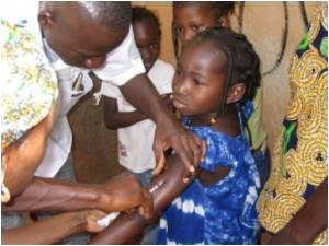 Africa Launches Huge Immunization Campaign Against Meningitis