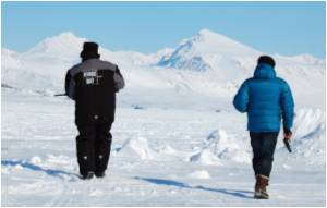 Former Coal Mine Aids Arctic Climate Research