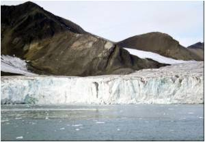 Arctic Sea's Thick Snow Drastically Melting