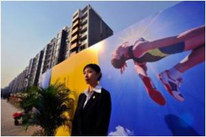 China Unveils Eco-friendly Olympic Village