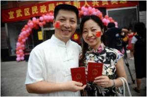 More Than 60% Chinese Couples Enjoy a Happy Marriage