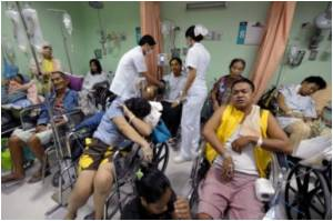 2,000 People Sicken in Philippines Relief Centres