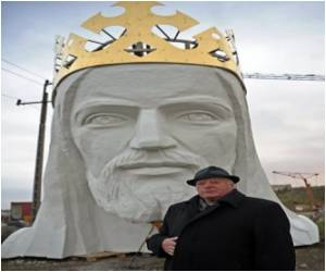 Largest Jesus in the World Being Built in Poland