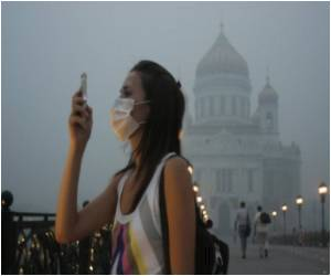 Wildfire Smog Blankets Moscow Posing Health Issues