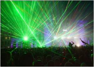 Russian Festivities Go Awry! - Laser Show Burns Eyes of Revelers!