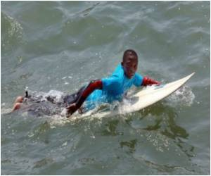 Durban's Street Kids Take to Surfing, But City Still Concerned of World Cup Image