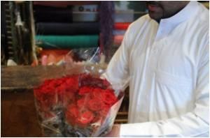 Clandestine Valentine's Day eve at Saudi