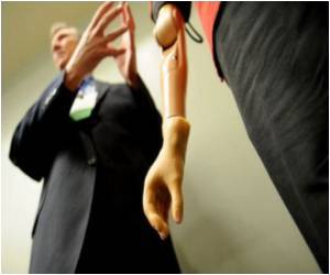Prosthetic Arm Controlled by Brain Signals Developed