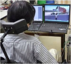 Paralysed Man Walks in Virtual World
