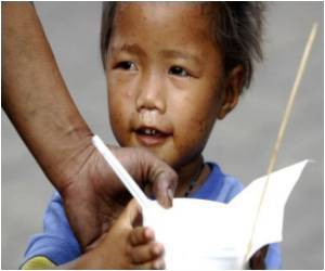 Vietnamese Children Suffer from Malnutrition