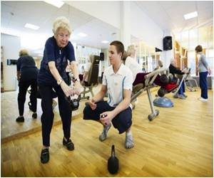 Exercise Offers Benefit Even For Very Frail Seniors