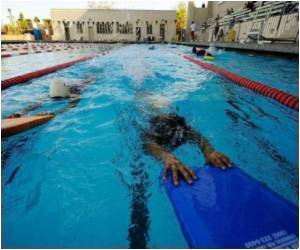 Helping Swimmers Swim Faster Are High-Tech Pools