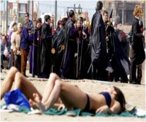 Not Many Spaniards Say They are Roman Catholic