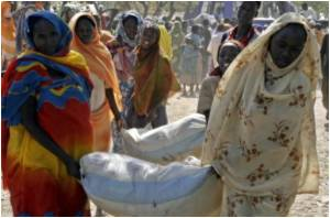 Displaced Darfur Refugees Trade Aid for Luxuries