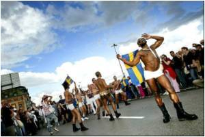 Stockholm Gay Pride Parade Has A New Follower
