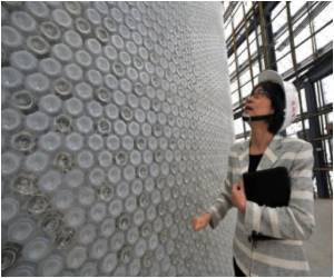 Taiwan Converts Millions of Recycled Plastic Bottles into Expo Pavilion