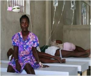 UN Camp - Cause of Haiti Cholera Outbreak