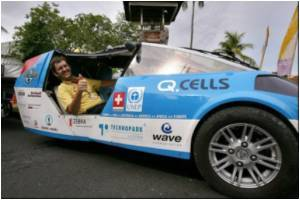 Around the World in Eco-friendly Solar Car