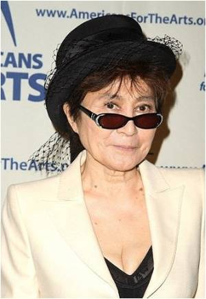 Yoko Ono Mural at UN to Raise Awareness On Autism