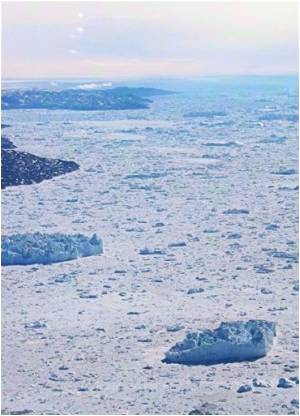 In 2010 Greenland Ice Sheet Melted at Record Rates