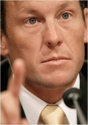 Despite Doping Confession Armstrong Still 'Most Admired Person' in His Website