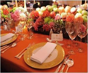 White House's S.Korean State Dinner Redolent With Fall Flavors and Tones