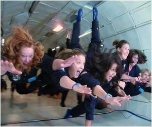 US Teachers All Ready to Take the 'Weightless' Flight