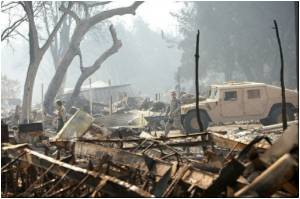 California's Wildfire Victims Face Depression, Loneliness