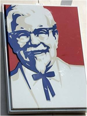 Advertisement for KFC in China Features a Look-alike of Barrack Obama to Market Fish Sandwich
