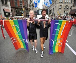 Gay Parade Celebrates Pride, Marriage Law in New York