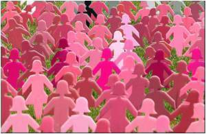 Human Pink Ribbon World Record Claimed by Saudi Women